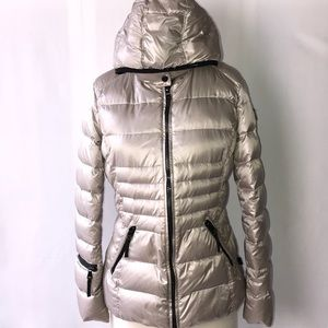 EUC ANDREW MARC Puffer HOODED jacket Sz M